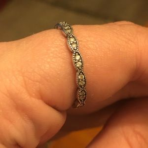 Sparkling Leaves Stackable Ring size 8.5 (58)